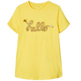 Geel t-shirt Follani