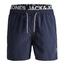 Jack & Jones Donkerblauwe zwembroek Aruba