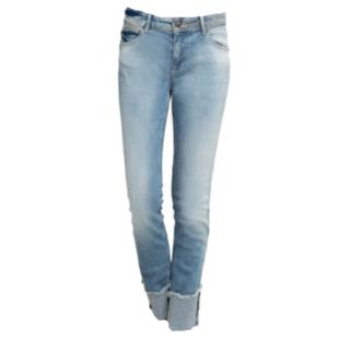 Lichtblauwe jeans Nova