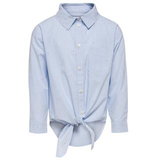 Lichtblauwe blouse Anne