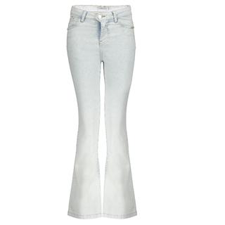 Blauwe flared jeans Nadine