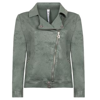 Groene jacket Biker