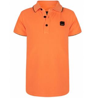 Oranje polo Pique
