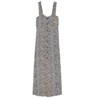 Geprinte jurk Wildling