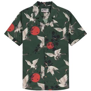 Groen geprint shirt Mura