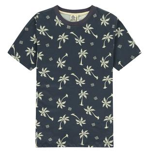 Grijs t-shirt Blue Palms