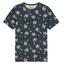 Kultivate Grijs t-shirt Blue Palms