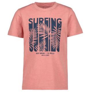 Roze t-shirt Dorian