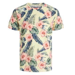 Geel geprint t-shirt Joreli