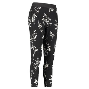 Zwarte broek Floria Flower