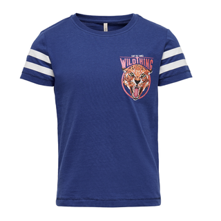 Blauwe t-shirt Lovina