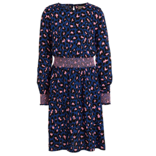 Blauwe jurk Danielle