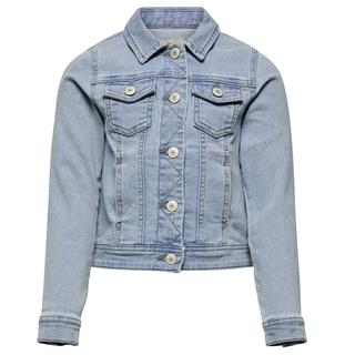 Lichtblauwe denim jacket Sara