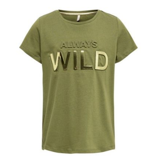 Olijfgroen t-shirt Suvi