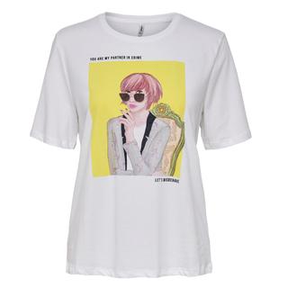 Wit t-shirt Sui Life