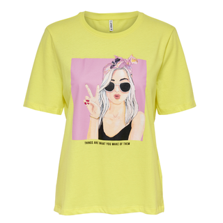 Geel t-shirt Sui Life