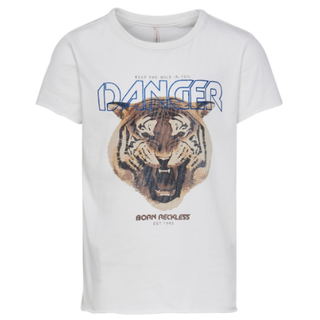 Wit t-shirt Lucy Tiger