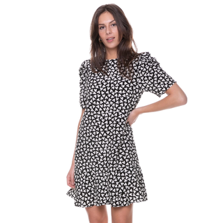 Zwarte mini dress Lies