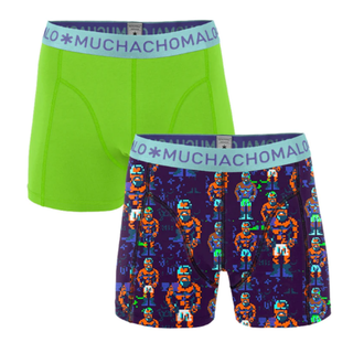 Groen geprinte shorts Clones