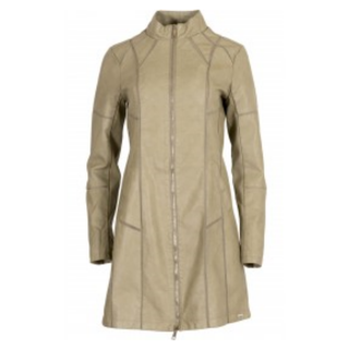 Mosgroene leather jacket Daliza