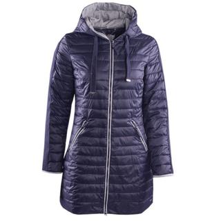 Donkerblauwe jacket Sheray