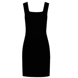 Zwarte jurk Jolie Singlet