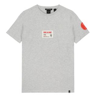 Lichtgrijs t-shirt Marco