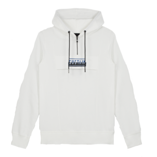 Witte hoodie Regular Anorak