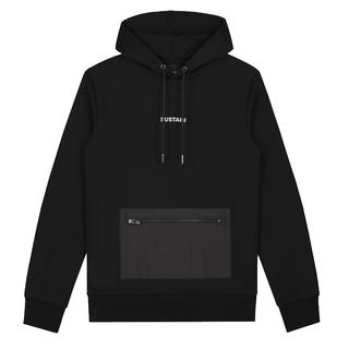 Zwarte hoodie Reflective Loose