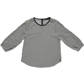 Zwart geprinte blouse Jasmin