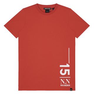 Rood t-shirt Livian