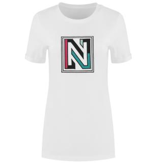 Wit t-shirt Vibe
