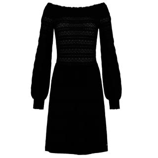 Zwarte jurk Purdy