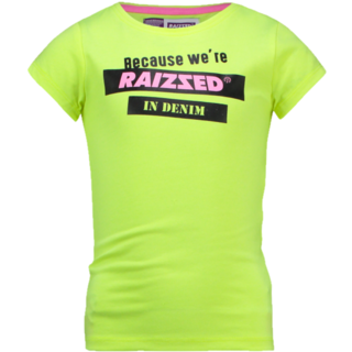 Neon geel t-shirt Atlanta