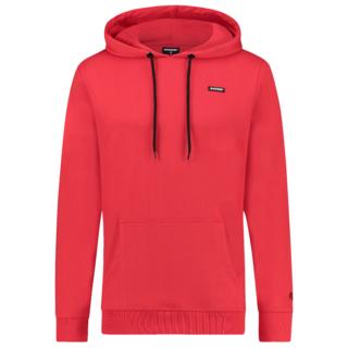 Rode hoodie Napels