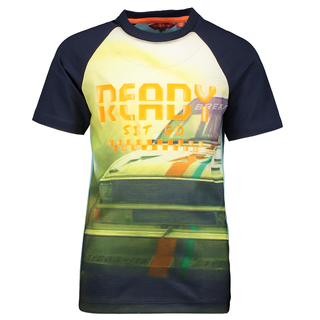 Blauw t-shirt Ready 6434
