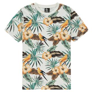 Wit geprint t-shirt Hidden Bird