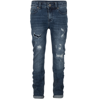 Blauwe jeans Jay Repaired