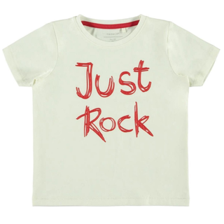 Wit t-shirt Deno