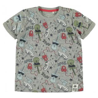 Grijs geprint t-shirt Darock