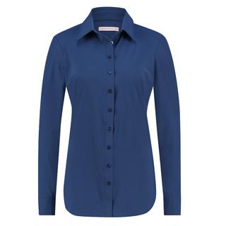 Classic Blue blouse Poppy