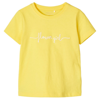 Geel t-shirt Fabina