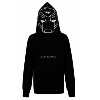 Zwarte hoodie Incognito