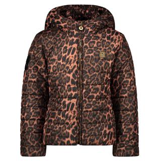 Bruin geprinte jacket 5230