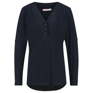 Donkerblauwe blouse Evi