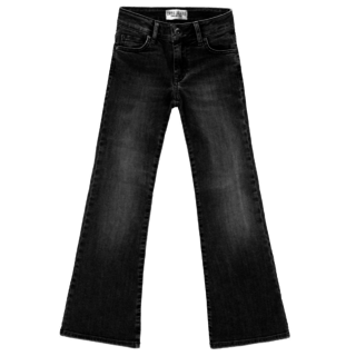 Zwarte flair jeans Veronique
