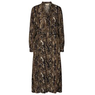 Olijfgroene jurk Jamila