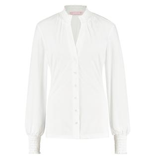 Witte blouse Fiene Smoq