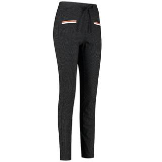 Zwarte broek Jilly Pinstripe