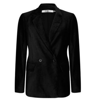 Zwarte blazer corduroy 17500